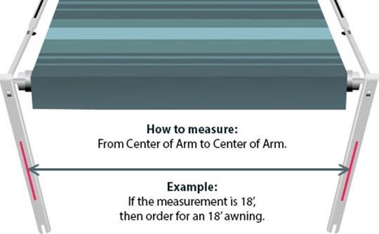 RV Awning Size Chart