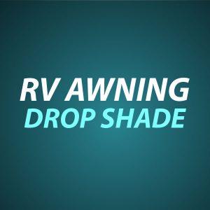 RV Awning Drop Shade