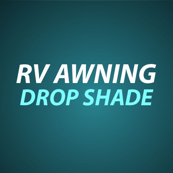 RV Awning Drop Shade